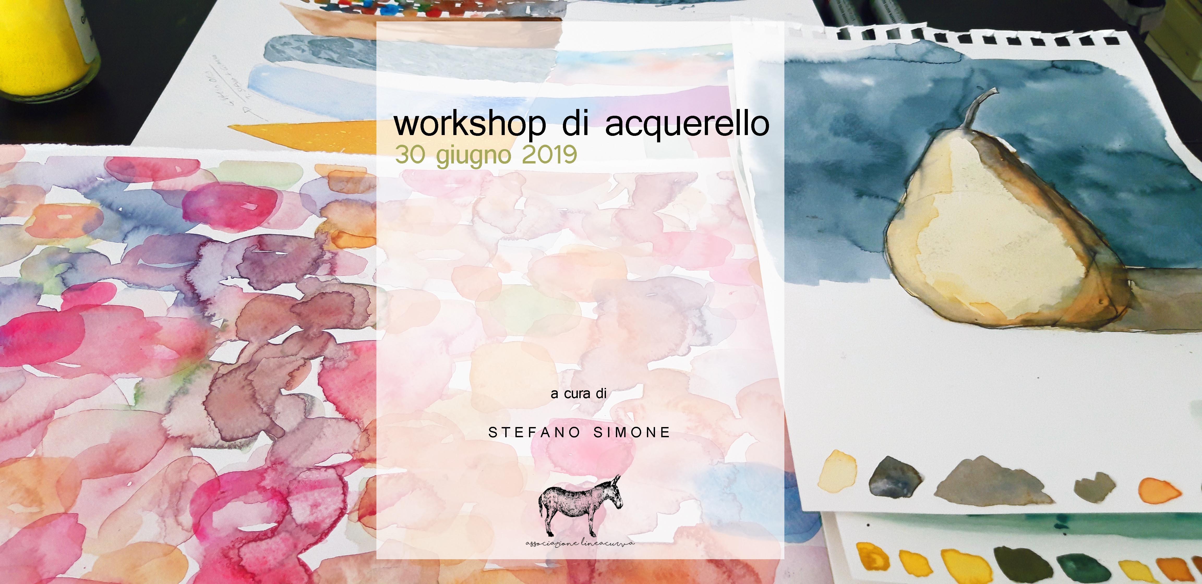 Workshop di acquerello (30 giugno 2019)